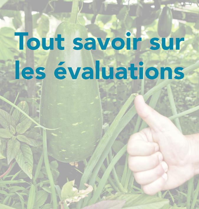 evaluations jardins communautaires