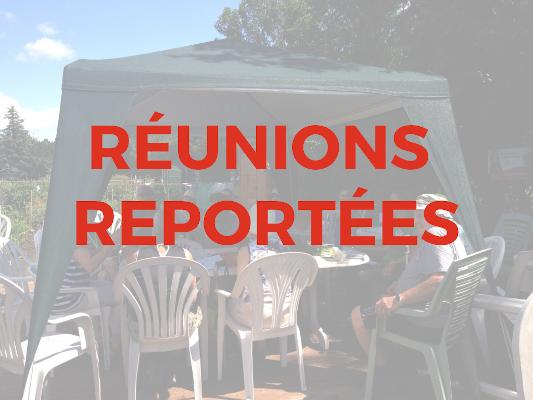 REPORT REUNIONS